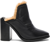 Sol Sana Fever Mule with Faux Fur Lining