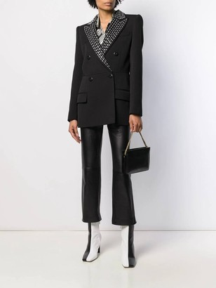 Givenchy Black Embellished Blazer