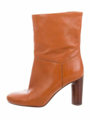 Marc by Marc Jacobs Leather Boots Brown