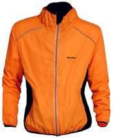 onkeyJack Reflective Ultra-light Cycling Jacket Bicycle Riding Running Wind Coat Waterproof for Woenen