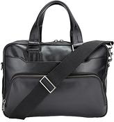 John Lewis Tokyo Leather Briefcase, Black