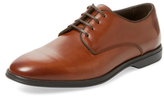 a. testoni Glove Calf Plain Toe Derby Shoe