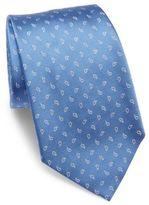 Armani Collezioni Floating Print Silk Tie