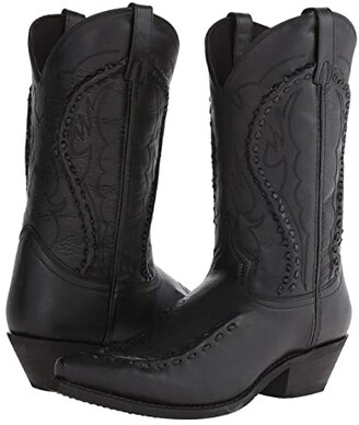 Laredo Laramie (Black Goat) Cowboy Boots