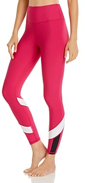 Aqua Athletic High-Rise Color-Block Leggings - 100% Exclusive