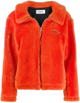 Ambush shearling zip jacket