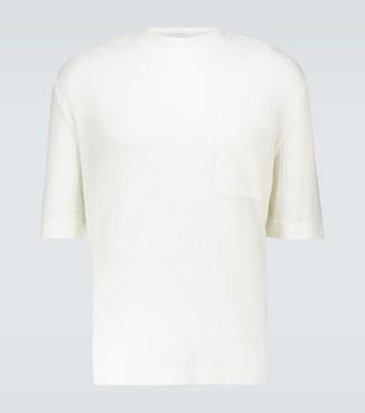 King And Tuckfield Short-sleeved ribbed T-shirt