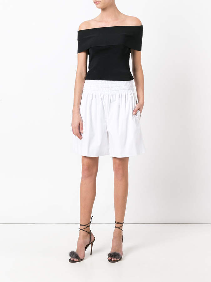 Rochas A-line shorts