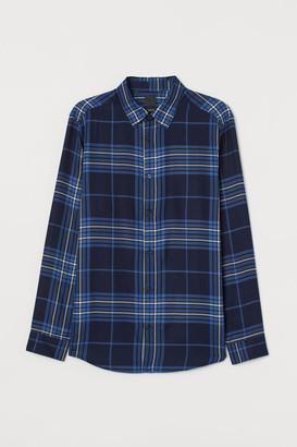 H&M Regular Fit Shirt - Blue