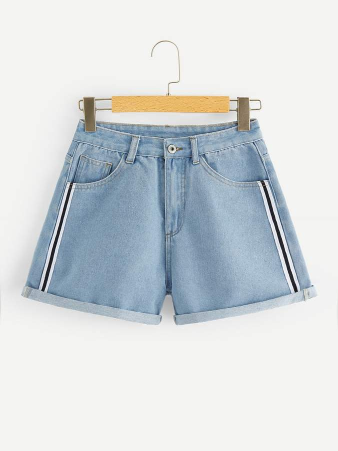 99a47272a1 Light Wash Shorts - ShopStyle