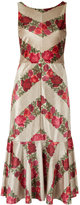 Cecilia Prado midi printed dress - women - Polyester/Spandex/Elastane - P