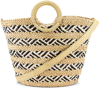 L-Space Nessa Straw Bag