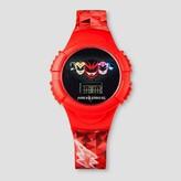 Boys' Power Rangers Flashing LCD Watch- Red