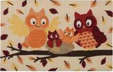 """Nourison Owls 20"""" x 30"""" Accent Rug"""
