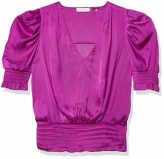 Ramy Brook Women's Flora Puff Shoulder TOP