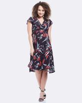 Soon Elizabeth Midi Dress