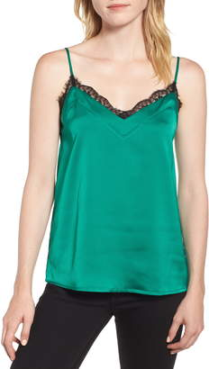 Gibson Lace Trim Camisole