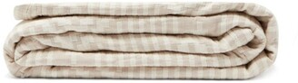 Pendleton Ganado King-sized Cotton-matelasse Blanket - Beige Print