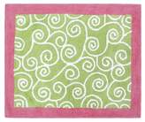 JoJo Designs Pink and Green Olivia Accent Floor Rug by Sweet