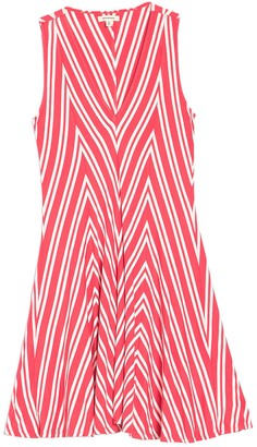 Max Studio Sleeveless Chevron Print Dress