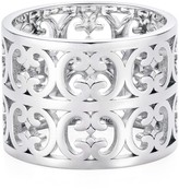 Hendrikka Waage Sterling Silver Double Baron Pattern Ring