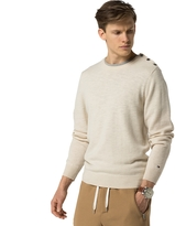 Tommy Hilfiger Wool Nautical Sweater
