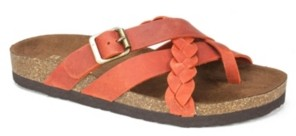 White Mountain Women's Harrington Footbed Sandals Women's Shoes