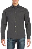 Black Brown 1826 Checked Sportshirt