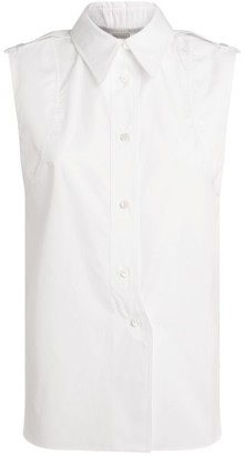 Stella McCartney Sleeveless Cotton Shirt