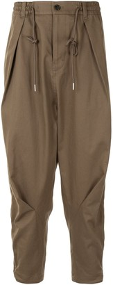 SONGZIO Transformer drawstring harem trousers