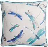 Matthew Williamson Blue & Grey Dragonfly Dance Cushion