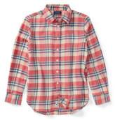 Ralph Lauren Cotton Flannel Shirt