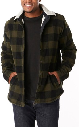 Smartwool Anchor Line High Pile Fleece Lined Shirt Jacket