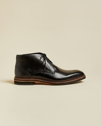 Ted Baker Leather Desert Boots