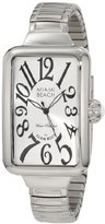 Glam Rock Women's MBD27047 Miami Beach Art Deco Silver Dial Stainless Steel Watch