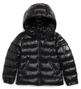 Moncler Toddler Girl's Bady Hooded Down Jacket