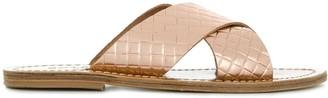 Solange Cross Strap Sandals
