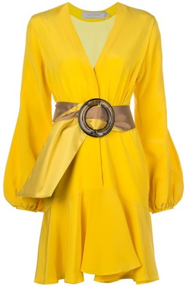 Silvia Tcherassi Belted Wrap Dress