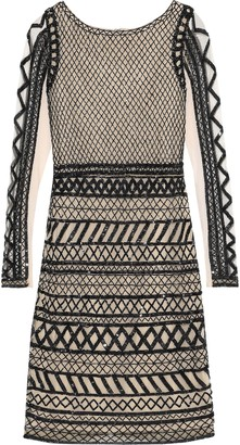 Alice + Olivia Tabitha Sequin And Bead-embellished Tulle Dress