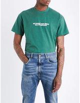 Vetements Tourist Cotton-jersey T-shirt
