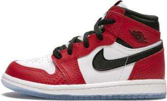 Jordan 1 Retro High OG (TD) 'Spider-Man Origin Story' Shoes - Size 5C