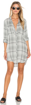 Bella Dahl Whitehaven Flannel Plaid Hipster Dress