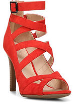 Franco Sarto Quincey Strappy Stacked Heel Sandals