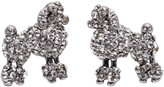 Marc Jacobs Silver Small Poodle Earrings