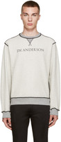J.W.Anderson Grey Inside-Out Pullover