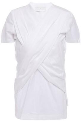 Marques Almeida Marques' Almeida Crossover Cotton-jersey T-shirt