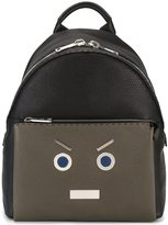 Fendi 'No Words' backpack - men - Leather - One Size