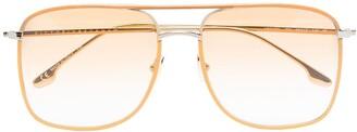 Navigator aviator-frame sunglasses