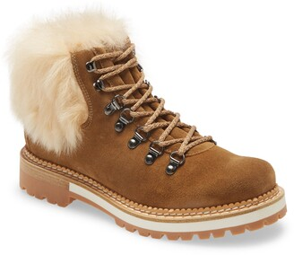 Montelliana Clara Genuine Shearling Boot