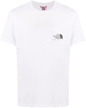 The North Face short-sleeved logo print T-shirt